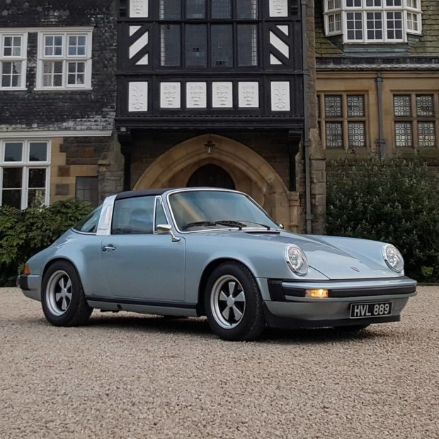 1979 Porsche 911 with an Electric Motor