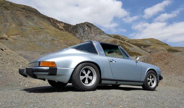 1979 Porsche 911 with an Electric Motor