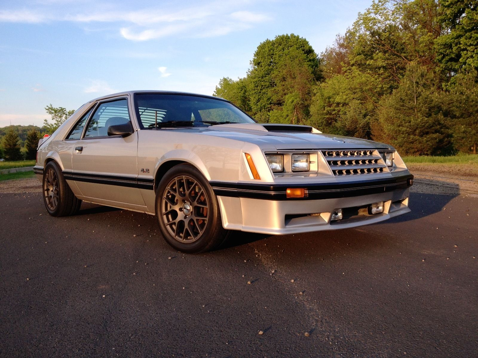 For Sale 1982 Mustang With A 4 6 L Mach 1 V8 Engine Swap Depot