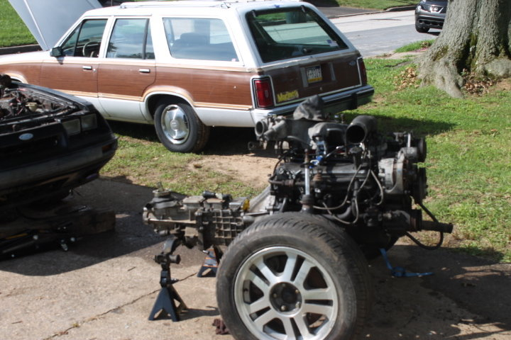 Building A 1985 Ford Ltd Wagon With Mustang Underpinnings  U2013 Engine Swap Depot