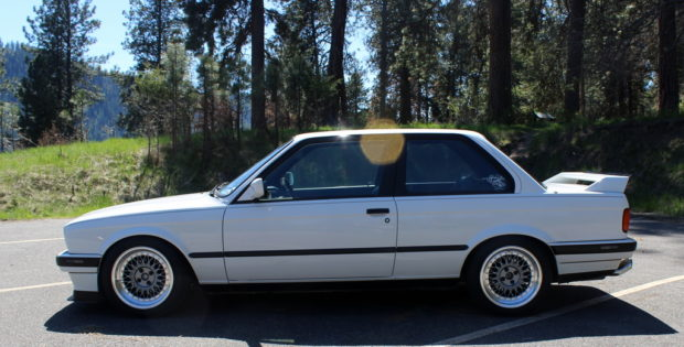 For Sale: 1991 BMW E30 with a Supercharged S52 – Engine Swap