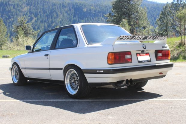 1991 BMW 325i with a Supercharged S52 inline-six