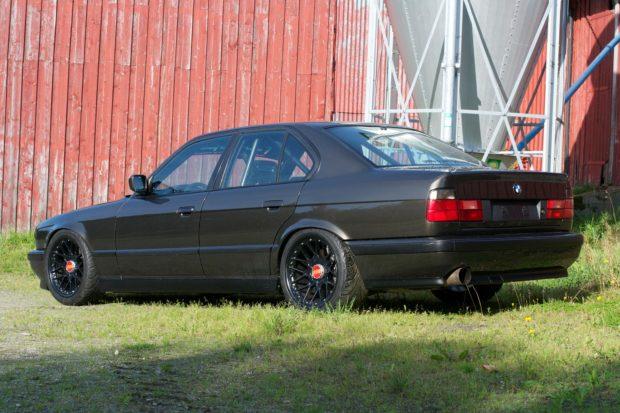 1991 BMW M5 E34 with a turbo S38 inline-six