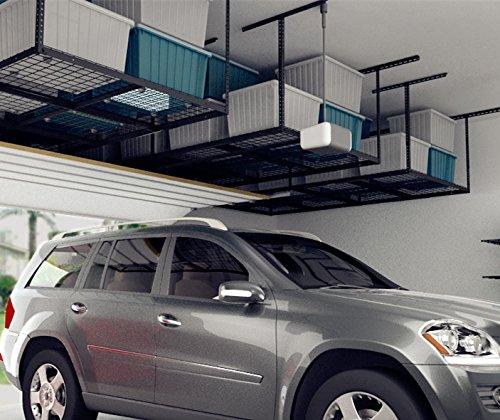 Heavy Duty Overhead Garage Storage Rack