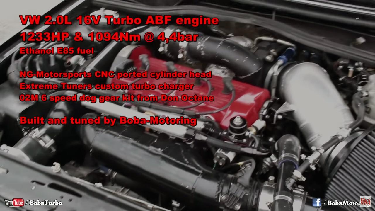 1 233 Hp Golf Mk2 Goes 8 67  U2013 Engine Swap Depot