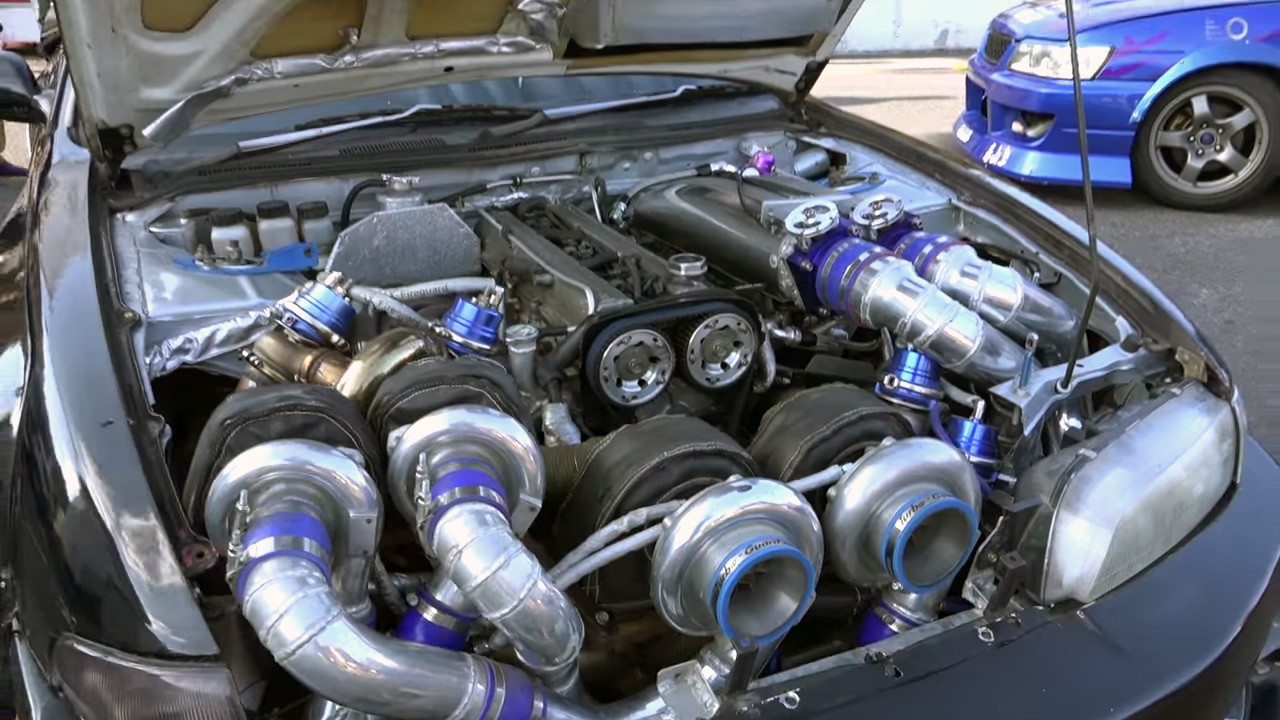 Silvia With A Quad Turbo 2jz Update Engine Swap Depot