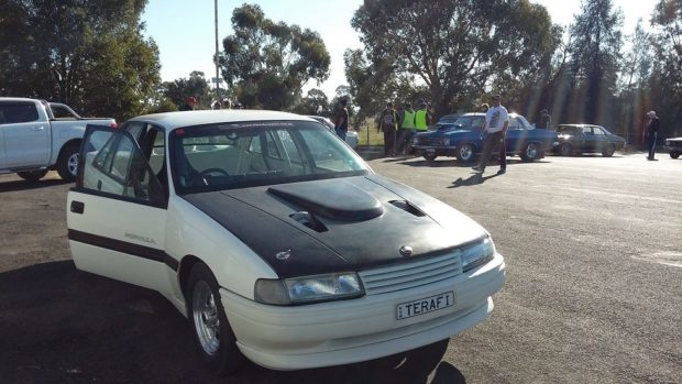 Commodore VN with a Twin-Turbo L67 Ecotec V6