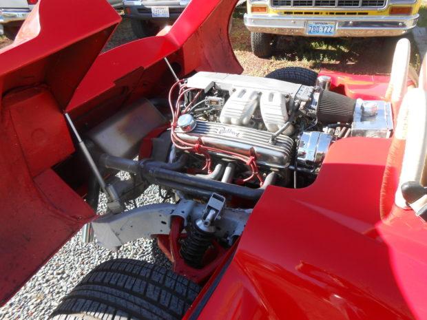 Custom 1968 Jaguar XKE with a Rear-Engine V8