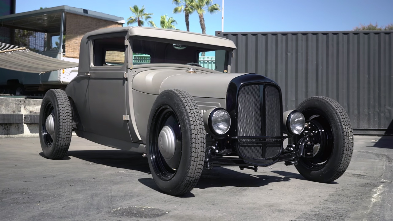 ford model a with a chevy v8 engine swap depot. Black Bedroom Furniture Sets. Home Design Ideas