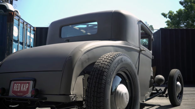 Ford Model A Sport Coupe with a Chevy V8