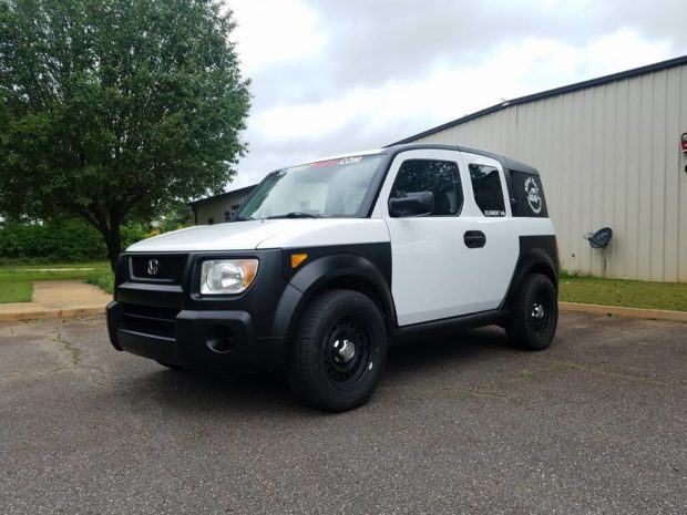Honda Element with a J35 V6