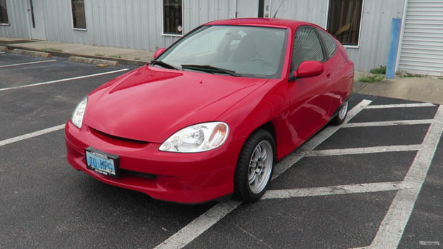 Honda Insight with a K20 inline-four