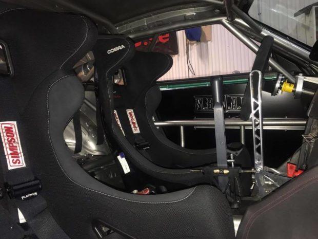 Nissan 370Z with a Turbo 3.4 L 2JZ inline-six