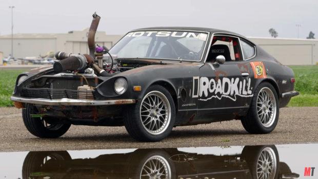 Roadkill Rotsun with a Turbo Ford 302 V8