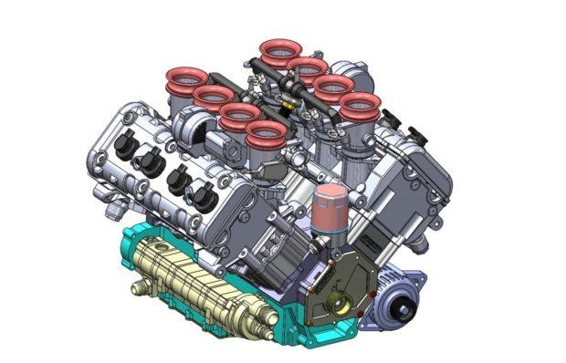 Synergy V8 CAD render