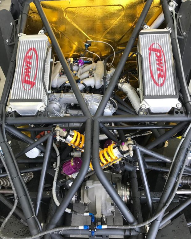 Tony Quinn Bespoke Ford Focus with a R35 VR38DETT V6
