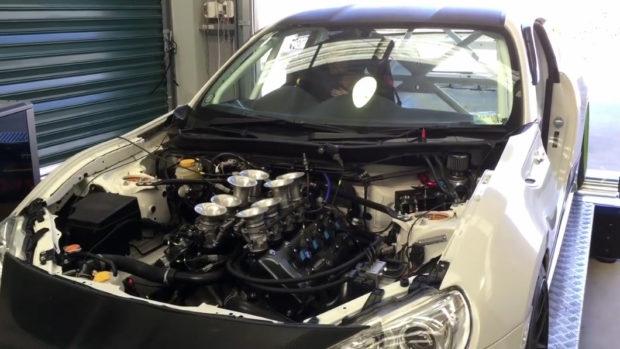 Toyota 86 with a Synergy V8