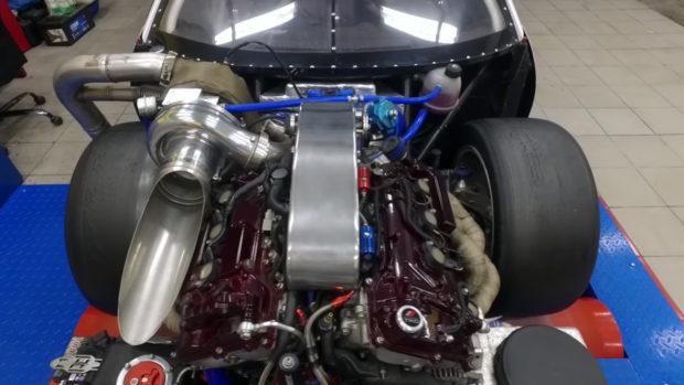 Toyota Celica with a Turbo 2GR V6