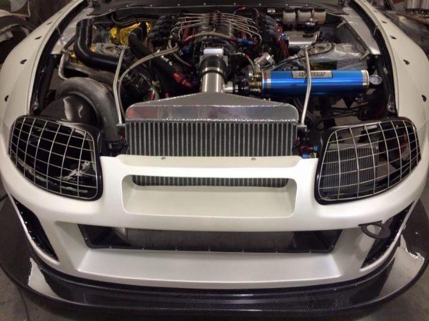Toyota Supra with a Turbo LSx V8