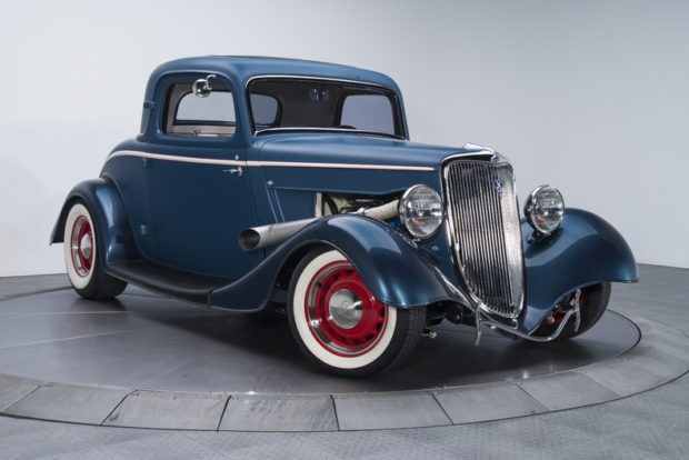 1934 Ford Coupe with a EcoBoost TT V6