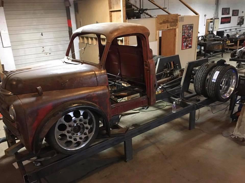 1948 Dodge Truck With A Twin Turbo Cummins Engine Swap Depot