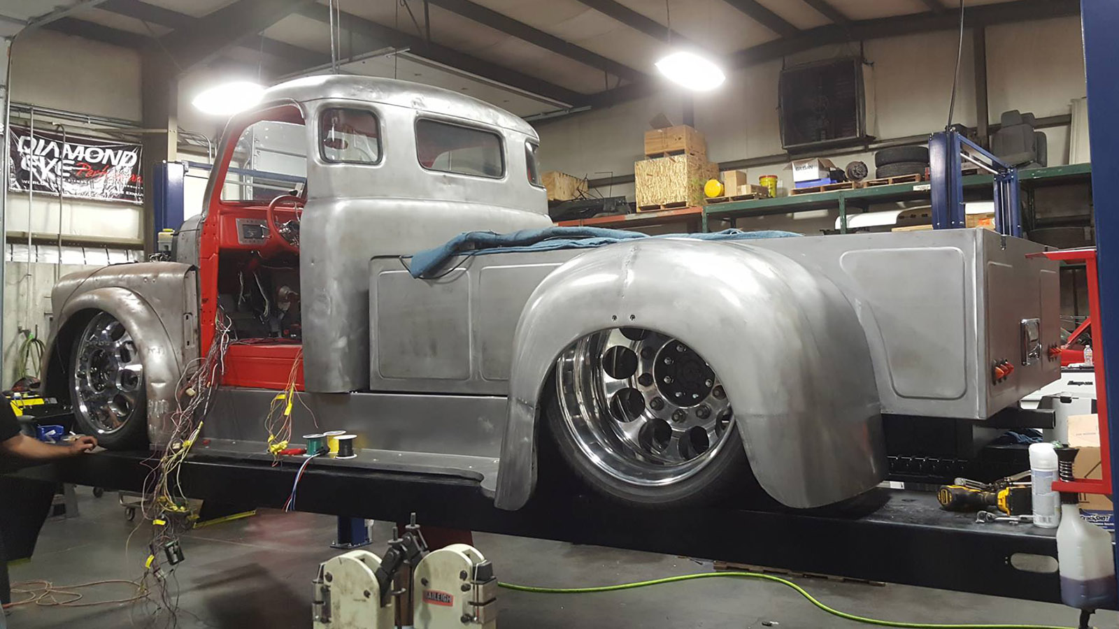 1948 Dodge Truck With A Twin Turbo Cummins Engine Swap Depot