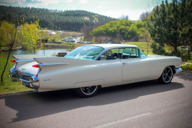 1959 Cadillac Coupe de Ville with a LSA V8