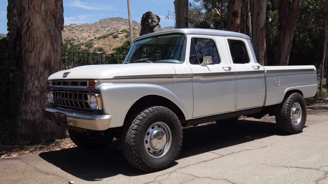 Lifted Ram 3500 >> 1965 Ford Truck with a Dodge Ram Powertrain – Engine Swap Depot