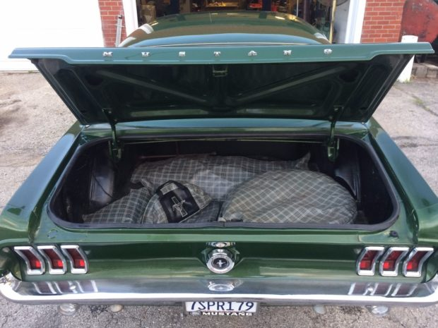 1967 Ford Mustang with a 5.3 L LSx V8