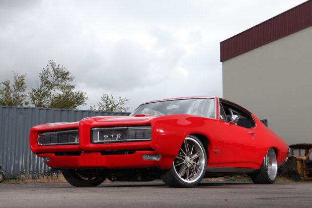 1968 Pontiac GTO with a LS3 V8
