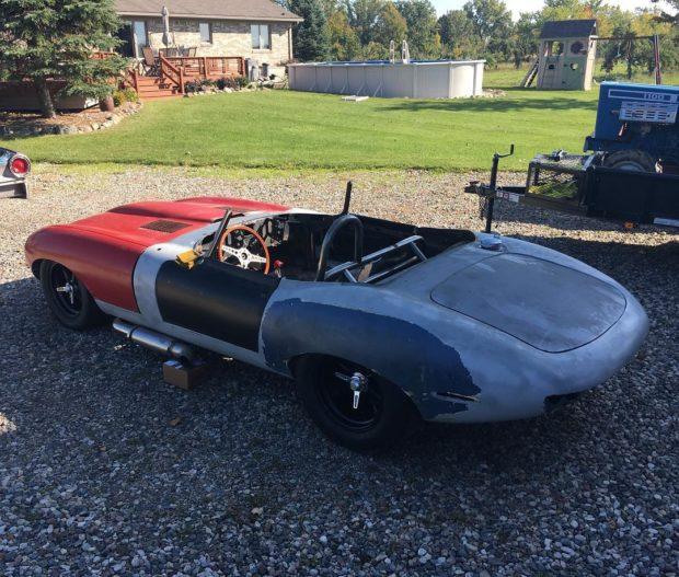 1968 Jaguar with a Twin-Turbo Viper V10