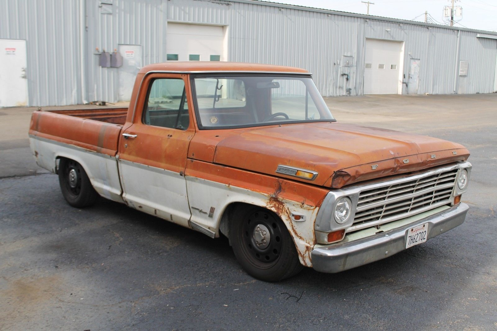 for sale 1969 f 250 on a crown victoria rolling chassis engine crown vic rims this 1969 ford f 250 is for sale on ebay (esd may earn commisions when a product is purchased from this link) in evansville, indiana with no reserve