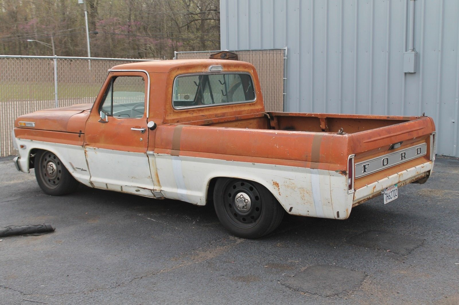 For Sale: 1969 F-250 on a Crown Victoria Rolling Chassis