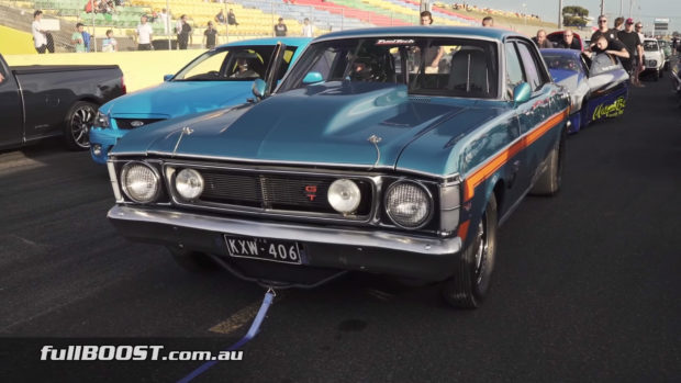 1970 Ford Falcon with a Twin-Turbo 427 V8