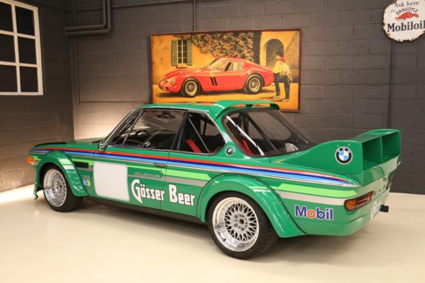 1973 BMW 3.0 CS Group 2 tribute with a M30 Inline-Six