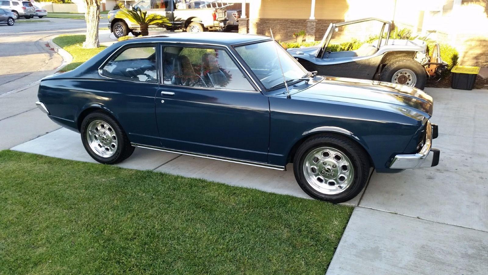 For Sale 1973 Toyota Carina With A 1uz Fe V8 Engine Swap Depot Celica
