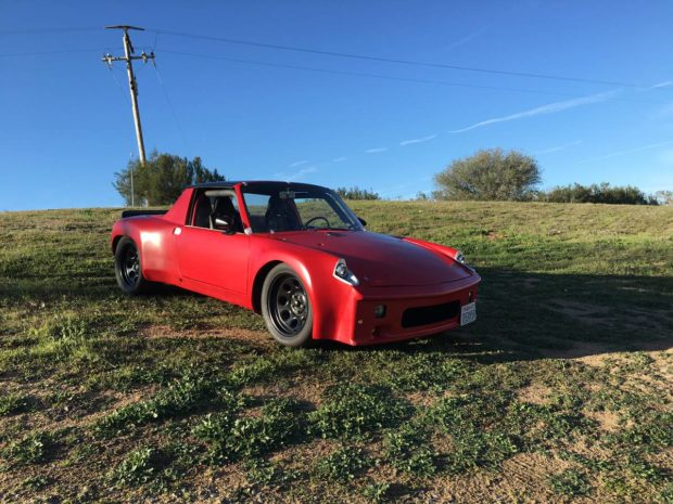 1974 Porsche 914 with a Chevy V8