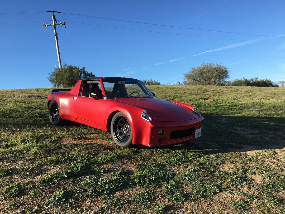 This 1974 Porsche 914 Is For In San Francisco California With An Asking Price Of 15 950 Obo The Train Consists A 400 Horse Chevy V8