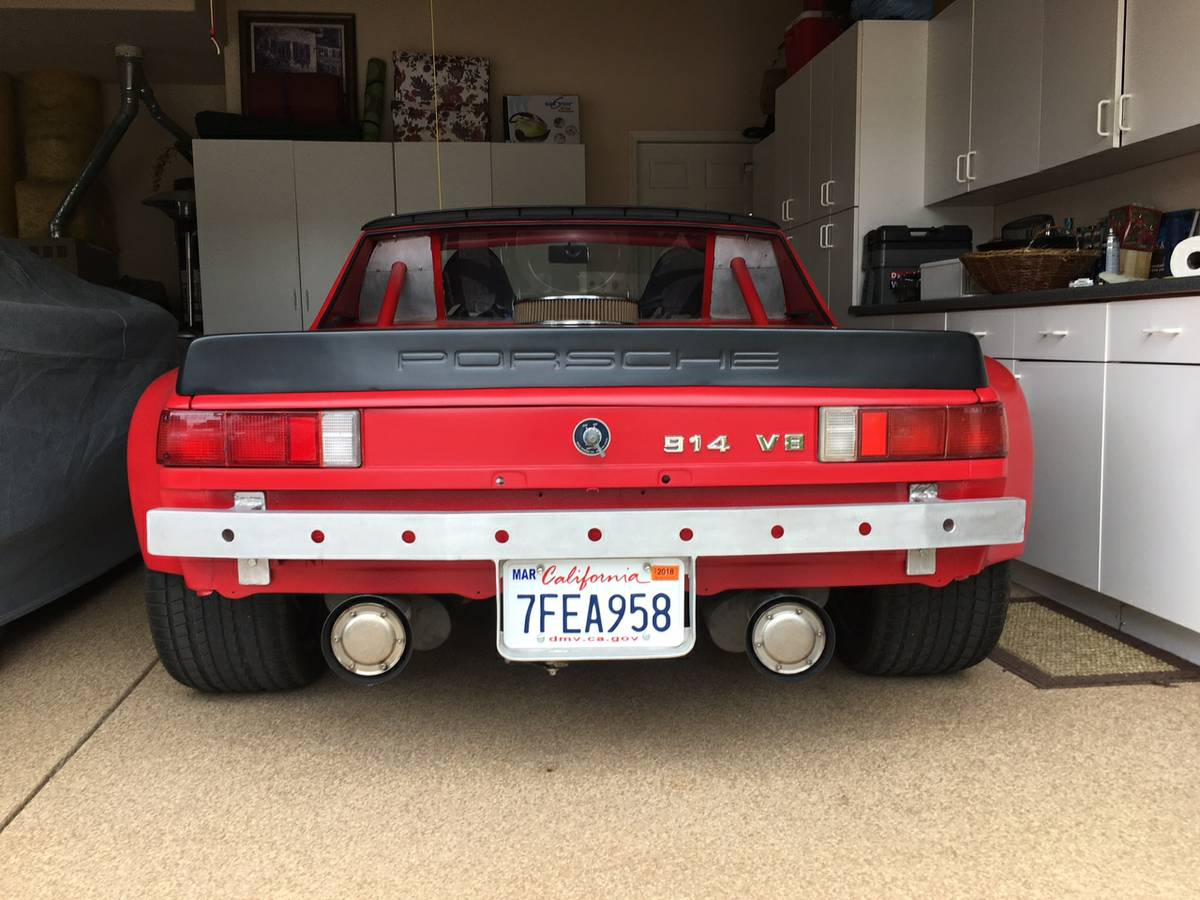 For Sale: 1974 Porsche 914 with a 400 hp V8 – Engine Swap Depot
