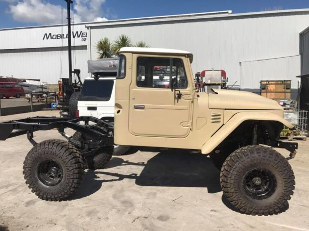1978 Land Cruiser with a turbo 1JZ inline-six