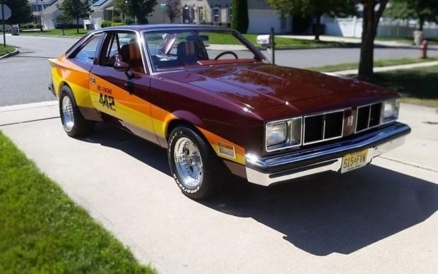1978 Oldsmobile 442 with Mid-Engine V8