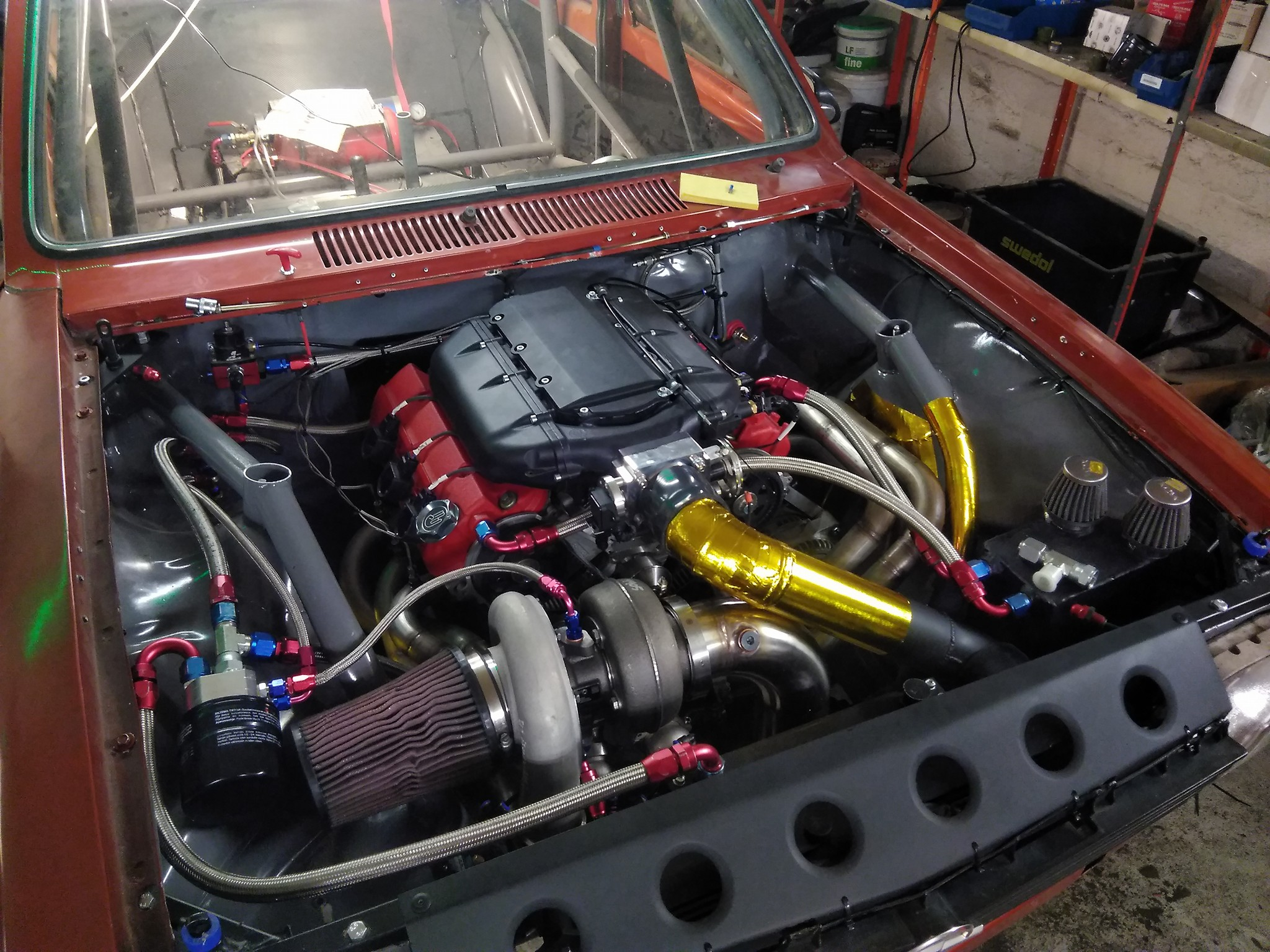 Opel Kadett With A Turbo J35 Update Engineswapdepot Com