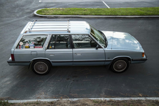 For Sale  Plymouth Reliant Wagon With A Turbo Inline
