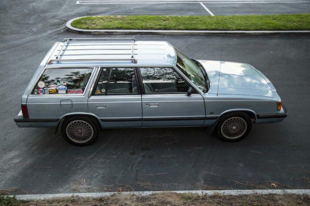 1987 Plymouth Reliant wagon with a LeBaron GTS turbo powertrain