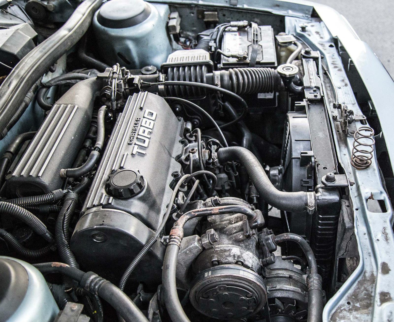 For Sale  Plymouth Reliant Wagon With A Turbo I4  U2013 Engine