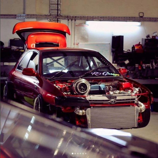 1995 Subaru WRX with a Turbo 2JZ