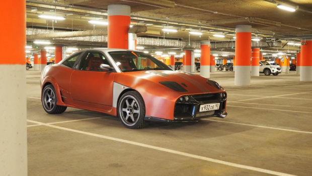 AWD Fiat Coupe with a Twin-Turbo Mitsubishi V6