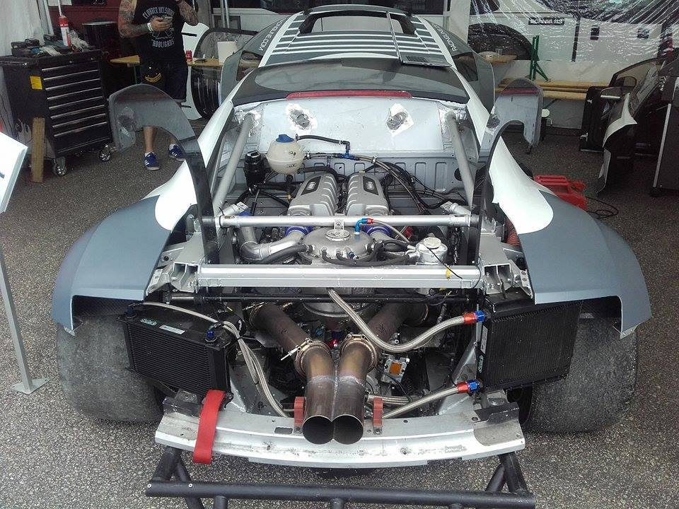 Audi R With A TwinTurbo V Engine Swap Depot - Audi r8 engine