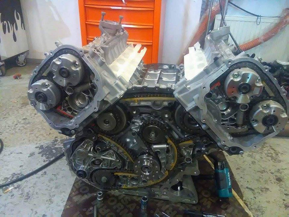 Audi R8 With A Twin Turbo V10 Engine Swap Depot