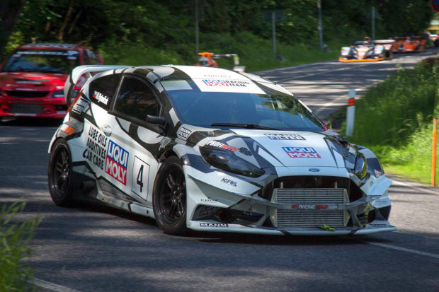 Ford Fiesta with a Mitsubishi Evo Powertrain